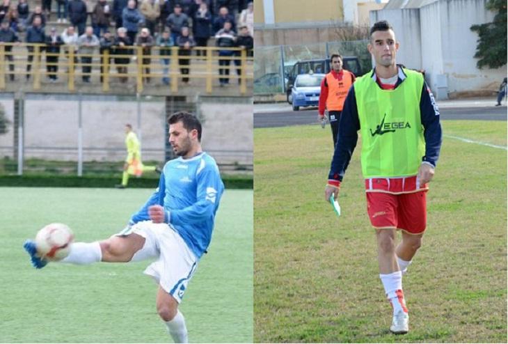 I nuovi arrivi in casa Grottammare, il difensore centrale Vincenzo De Palma ed il terzino sinistro Marco Pergolizzi