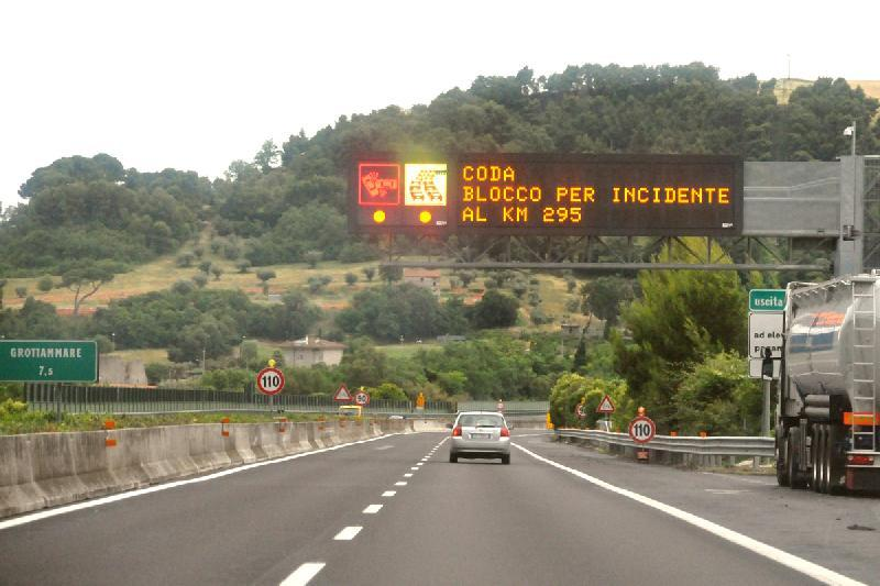 Incidente sull'A14