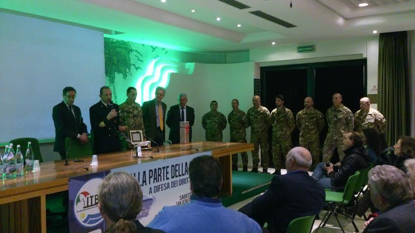 L'Itb premia il Nucleo Sommozzatori e il comandante della Capitaneria Sergio Lo Presti