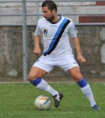 L'attaccante Saverio Mastrojanni che già aveva giocato col Grottammare nella stagione 2010-11