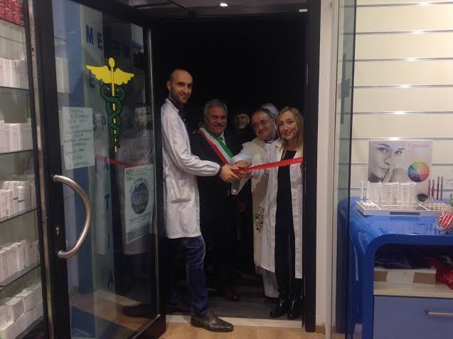 Nuova inaugurazione per la Farmacia comunale di Cupra Marittima