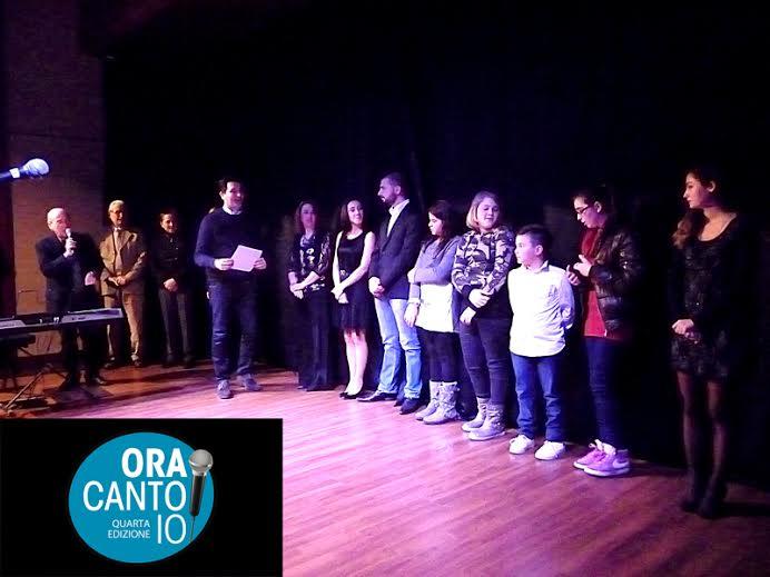 Ora Canto Io, premiazioni 2013
