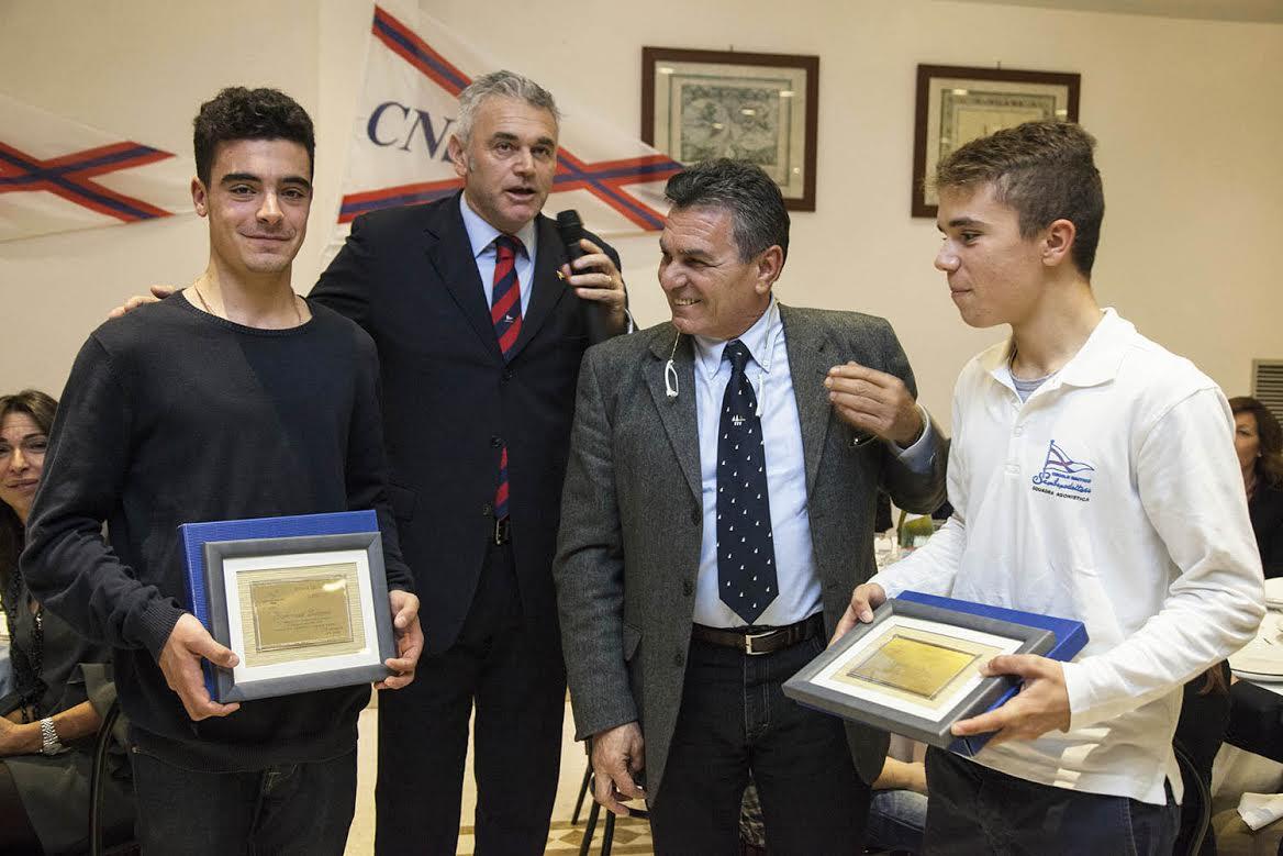 Circolo Nautico, premiati i campioni 420 juniores