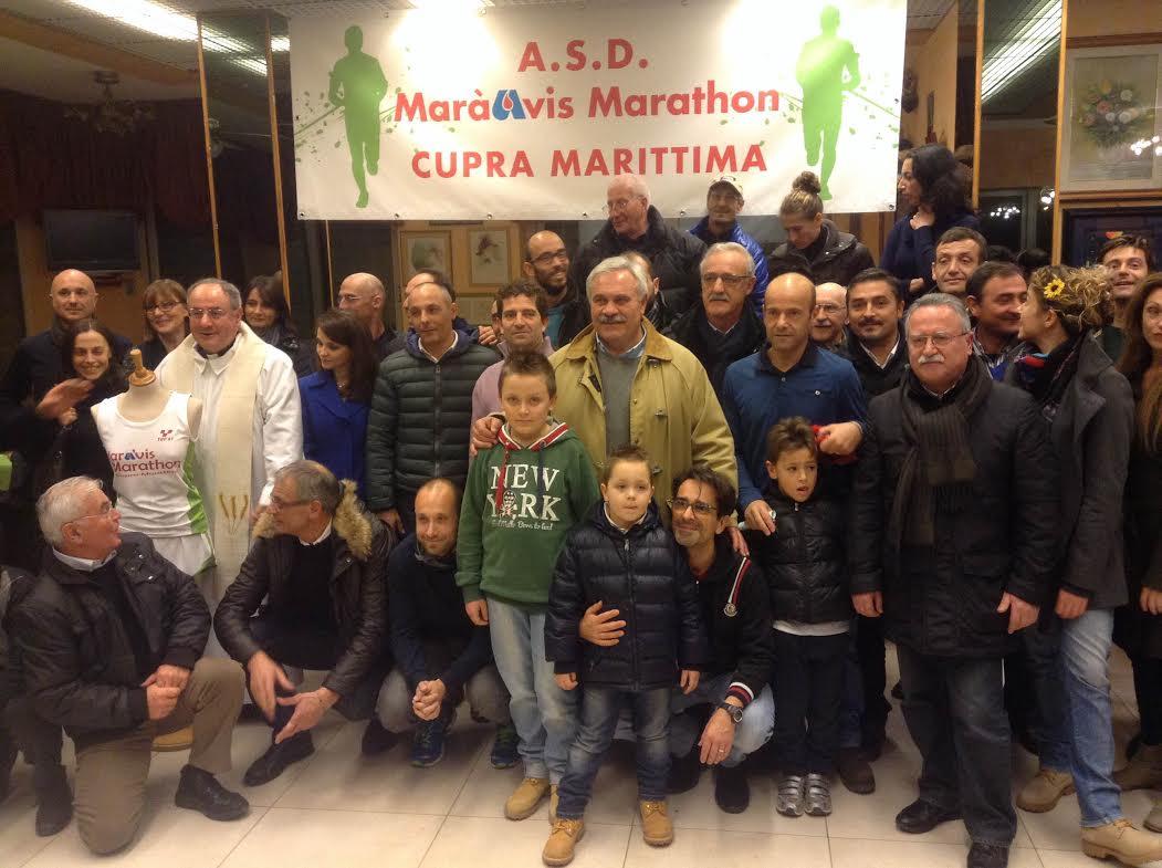 Un nuovo gruppo sportivo a Cupra : Mara' Avis Marathon