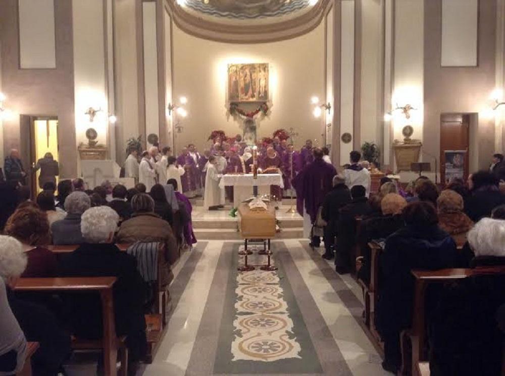 I funerali di don Gerardo Girolami