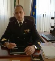 Il comandante Sergio Lo Presti