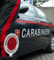Il ragazzo è stato fermato dai Carabinieri