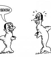 Il figlio del delfino (vignetta  Evo)