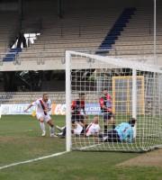 Il gol di Piccioni (ph. Bianchini)
