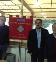 Da sinistra Massimo Lauri, Andrea Mora e Franco Regi
