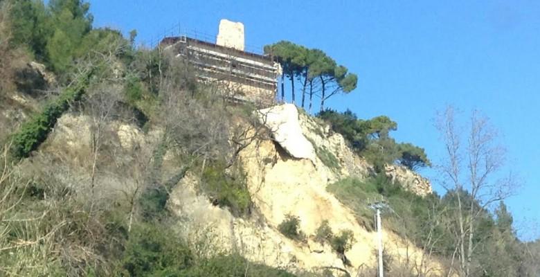 Frana alla collina di Sant'Andrea