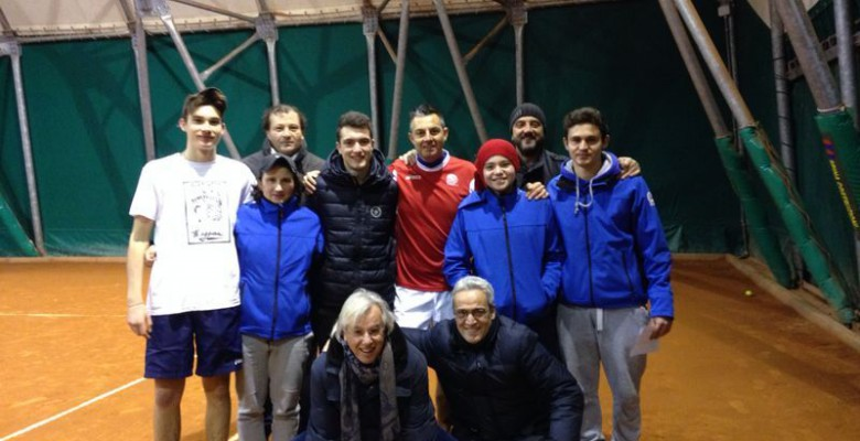 I giovani del Circolo Tennis  Maggioni