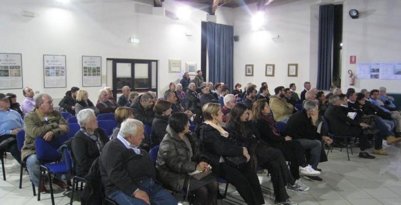 La sala consiliare del Comune di Martinsicuro