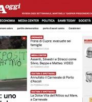 L'home page di RivieraOggi