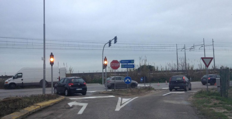 Nuovo semafoto a Cupra
