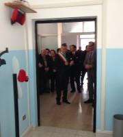 un momento dell'inaugurazione dei nuovi uffici del Ruzzo