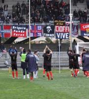 Samb - Portorecanati 3-1, il saluto alla Nord
