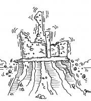 Sant'Andrea in bilico (vignetta Evo)