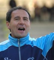 Domenico Izzotti quando allenava il Grottammare