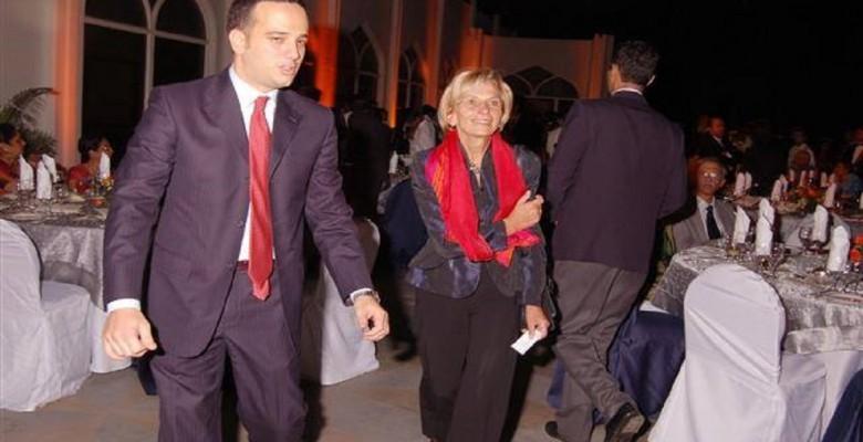 Giuseppe Formentini con Emma Bonino