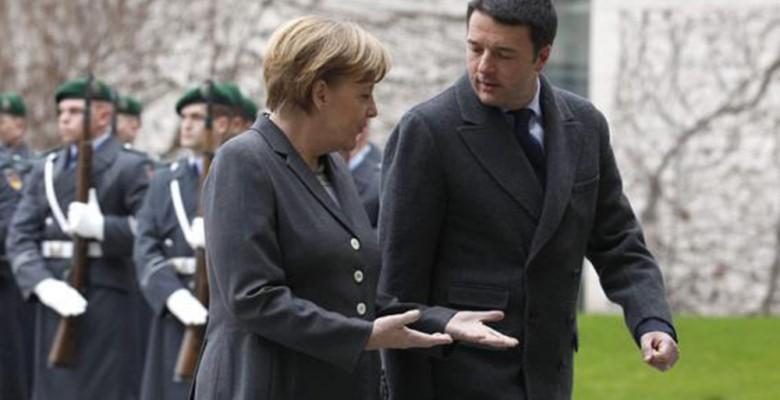 Merkel e Renzi
