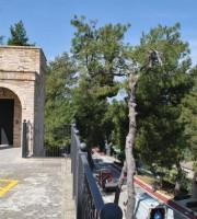 Monteprandone, i due ascensori che collegano la piazza col parcheggio