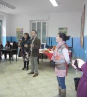 Un momento dello scambio culturale tra l'Isc Leopardi e gli alunni francesi