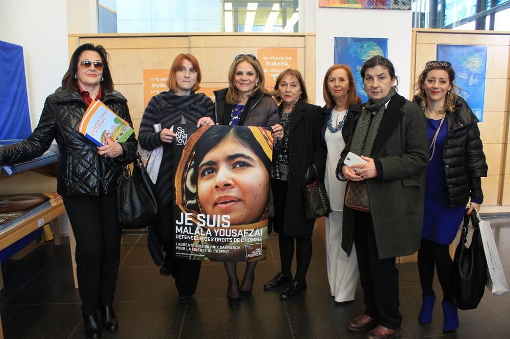 Siamo arrivate al parlamento europeo riviera oggi for Votazioni parlamento oggi
