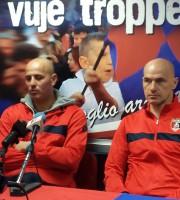 Ieri in sala stampa il capitano e l'allenatore sembravano due 'gemelli arrabbiati'