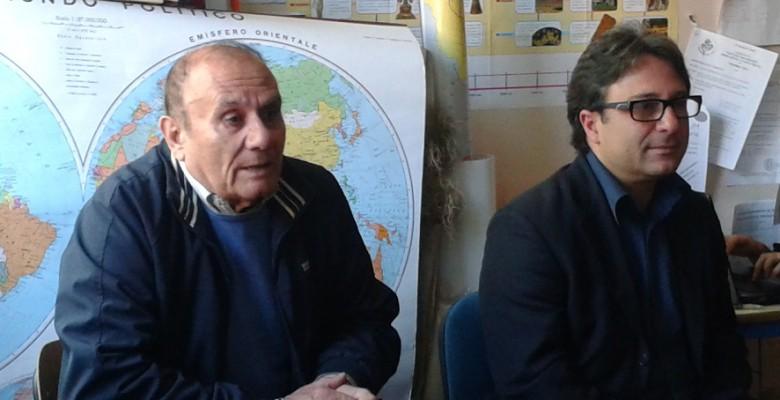 Nella foto, da sinistra, Antonio Bruni e Antonio Pompili