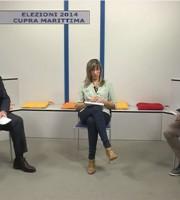 Domenico D'Annibali e Alessio Piersimoni con Daniela Facciolini