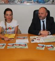 Sonia Roscioli con Giovanni Gaspari