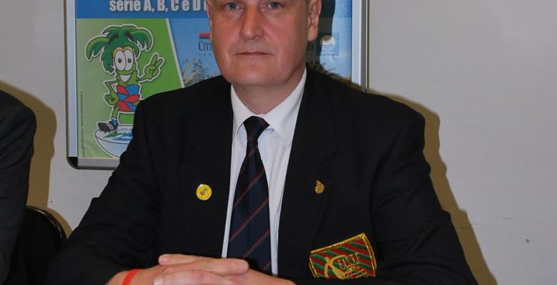 il presidente Alan Collins