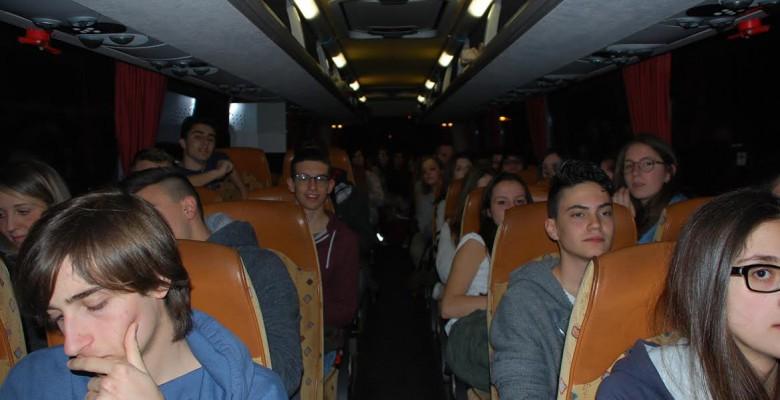 Studenti in partenza per l'Austria