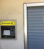 L'ufficio postale di Villa Rosa dopo la rapina