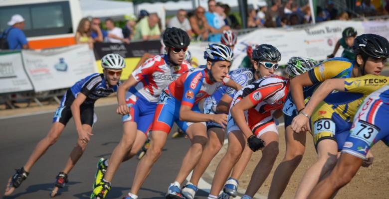 Gli atleti della Riviera Delle Palme in gara