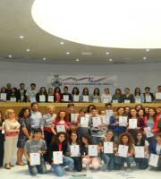 I giovani studenti premiati dal Fai