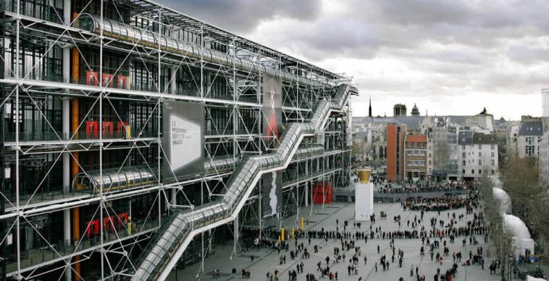Il Centre Pompidou da lettera43