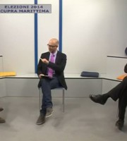 Luciano Bruni e Giuseppe Torquati con Flammini a Super J