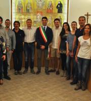 Stefano Stracci con i neo eletti