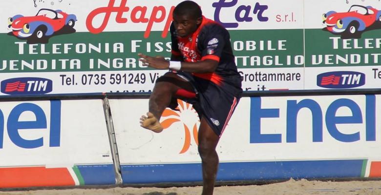 Jordan della  Samb Beach Soccer