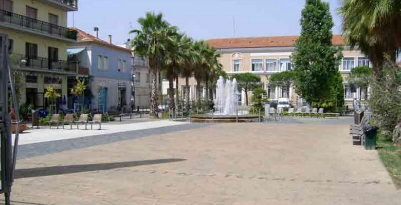 Piazza Cavour di Martinsicuro