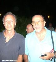 Marco Travaglio col direttore Perotti