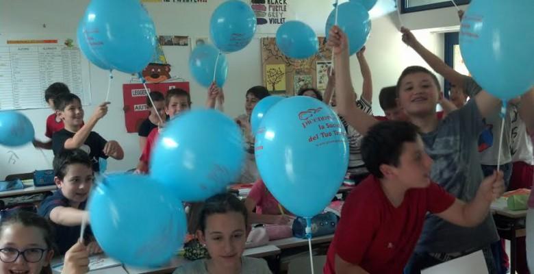 Festa in 5 A dopo la visita dei referenti di Piceno Gas