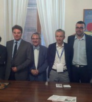 Foto di gruppo per Pellegrini nel Cyberspazio