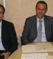 Massimo Vagnoni e Alduino Tommolini