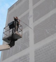 Street artist Zed1