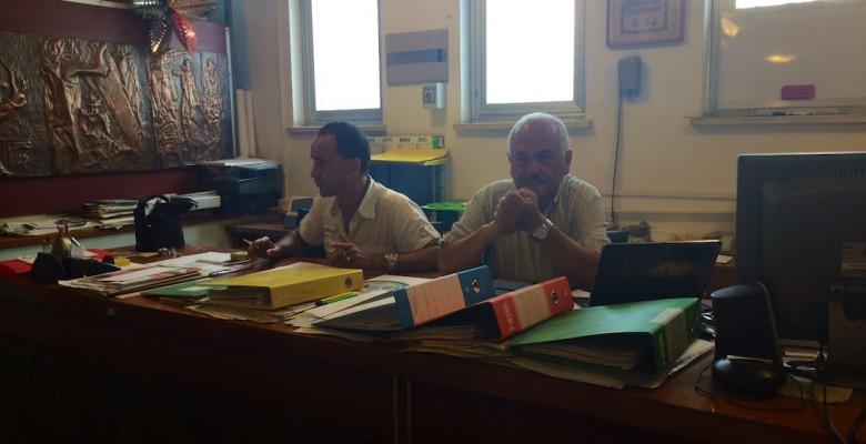 un momento della conferenza stampa organizzata dalla Pro loco di Martinsicuro
