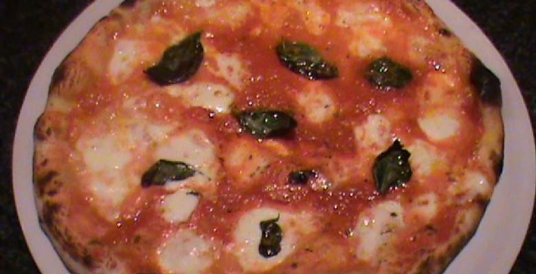 La pizza margherita del Rondò
