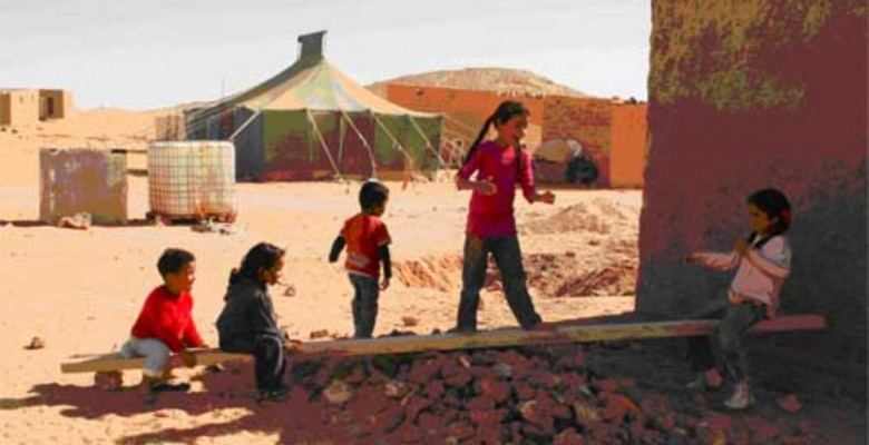 Bambini del Saharawi